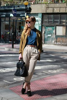 London Street Style - Photography by THE WHITEPEPPER digging the color scheme
