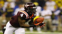 New York Giants 2012 NFL Draft Profile: Virginia Tech RB David Wilson