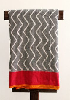 Ikat Saree – Desically Ethnic #Saree #Indian #Ikat #Ethnic #Desi #desicallyethnic #Dailywear