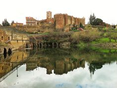 CASTLES OF SPAIN - Castle of Buitrago del Lozoya is is a castle located inside the walls of Buitrago del Lozoya, Community of Madrid region, Spain. It was built in the 15th century in Gothic-Mudéjar style. It has a rectangular plan, with seven towers of various shapes (round, pentagonal, square), all in stone. The interior is in ruins. It was declared Bien de Interés Cultural in 1931