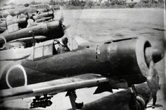 Japanese Zero squadron at Mindanao, Philippines, Ww2 Aircraft, Fighter Aircraft, Military Aircraft, Fighter Jets, Ww2 Pictures, Ww2 Photos, Imperial Japanese Navy, Mindanao, Army & Navy