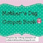 Fun coupon book for students to give to thier mom on Mother's Day.  Also includes blank coupons for students to add thier own ideas!...