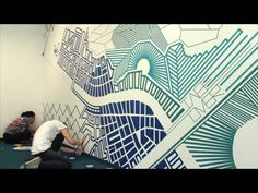 art of education tape murals - Google Search