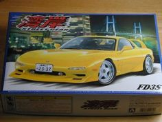 Aoshima 1/24 Scale Mazda Gulf  RX-7  FD3S #AOSHIMA