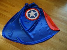 Captain America Superhero Cape for Kids or Toddlers. $25.00, via Etsy.