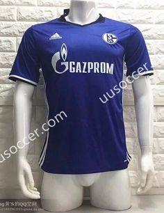 2016/17  Schalke 04 Home Blue Thailand Soccer Jersey AAA