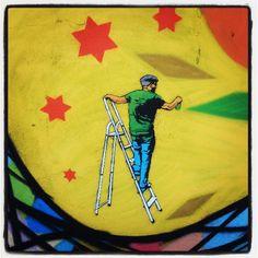 #murslliures #arteurbanobarcelona #barcelonaarteurbano #bcnstretart #sprayart #streetartbcn #stencilart #stencilartist #cb75 #spraypaint #wallartist #Worldstreetart #urbanart #urbanwalls #Barcelona