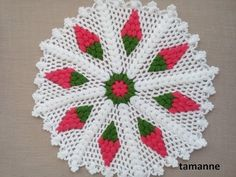 YouTube African Print Fashion, Filet Crochet, Baby Knitting Patterns, Doilies, Baby Dress, Crochet Baby, Creations, Blanket, Holiday Decor