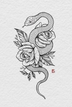 food recipes for dinner . Dope Tattoos, Mini Tattoos, Unique Tattoos, Flower Tattoos, Body Art Tattoos, Small Tattoos, Sleeve Tattoos, Tattoos For Guys, Snake And Flowers Tattoo