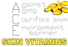 Skin Vitamins knowledge. More on www.lovingsunshine.com