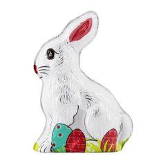 Hollow Milk Chocolate Bunny 100g Chocolate Bunny, Bunny Art, Bunny Toys, Rooster, Milk, Cats, Animals, Gatos, Animales