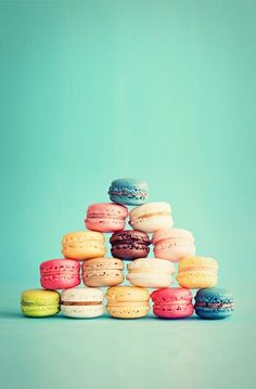 Colorful macaroons!