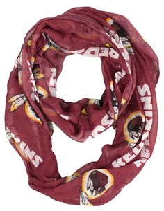 Washington Redskins Infinity Scarf
