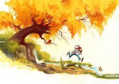 Children's book by Wouter Tulp, via Behance