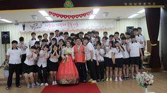 영암낭주중학교, 교내에서 다문화교직원 결혼식 올려