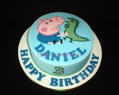 george pig cake - Google Search