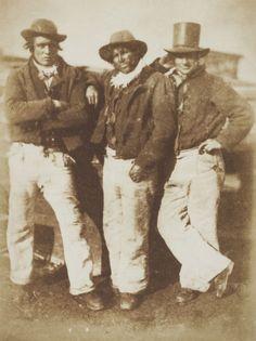 D. O. Hill and Robert Adamson Newhaven fishermen, circa 1845