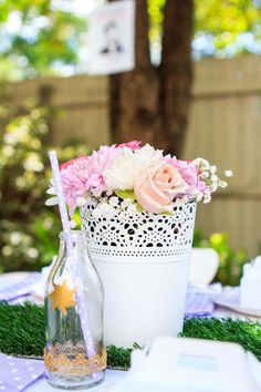pretty flower pots