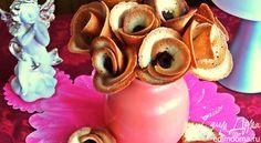 Букет хрупких роз к чаю