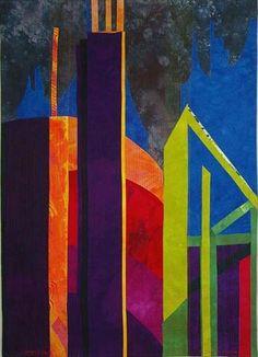 """Ambivalence"" - Elizabeth Barton (quilt, 48""h x 36""w)"