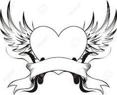 Dibujos de corazones  Dibujar corazones  Corazones de oro