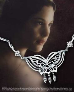 The Arwen™ Butterfly Necklace - I might actually wear this one.
