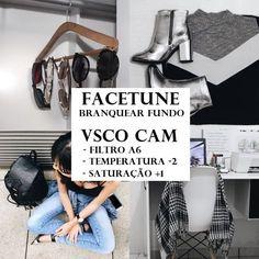 Como edito minhas fotos - usando o app VSCO Cam e Facetune 2