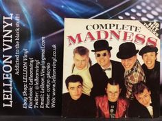 Complete Madness Gatefold LP Album Vinyl Record HIT-TV1 A9/B8 Pop Punk Ska 70's Music:Records:Albums/ LPs:Rock:Punk