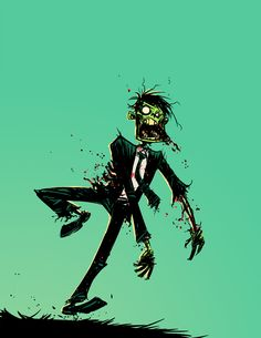 Zombie Run Fast by skottieyoung.deviantart.com