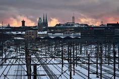 View over Helsinki railroads Helsinki, New York Skyline, Explore, Photography, Travel, Art, Art Background, Photograph, Viajes
