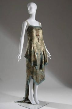 Dress    Callot Soeurs, 1921    The Chicago History Museum