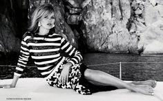 Kate Moss for Vogue UK June 2013 | 128-129 |