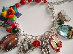 Wizard of Oz Loaded Picture Charm Bracelet