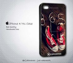 Converse All Star Shoes Apparel iPhone 4/4s Case | Dalmanaz - Accessories on ArtFire