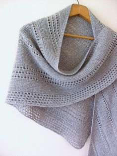 Ravelry: Altitude pattern by Alla Saenko Knitted Shawls, Crochet Shawl, Knit Crochet, Knitted Fabric, Crochet Granny, Crochet Vests, Lace Shawls, Crochet Cape, Crochet Edgings