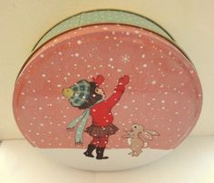 Belle&Boo talvinen pyöreä purkki 14 e
