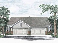 Cottage House Plan with 2436 Square Feet and 4 Bedrooms from Dream Home Source | House Plan Code DHSW13500