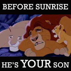 Day 20 Funniest Moment-Before Sunrise He's your son