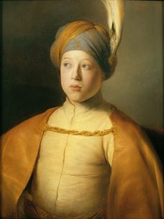 Ян Ливенс (1607–1674). «Портрет мальчика в плаще и тюрбане». 1631. Фото: The Leiden Collection