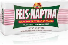 GREAT at getting out stains.  It's cheap and lasts long.