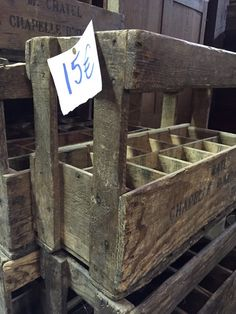 @toddvic - @BrittanyFerries love these old wine crates that we found in St Sever flee market. #ForAnyone