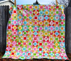 Porch Swing Quilts Bright Quilts, Easter Candy, Scrappy Quilts, Pretty Pastel, Porch Swing, Quilt Blocks, Sewing, Sugar, Flowers