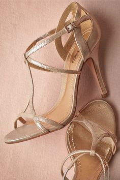 Addison Heels from BHLDN - Would look good with either of those bridesmaid dresses