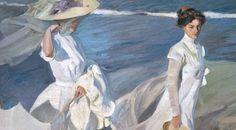 Joaquín Sorolla. «Paseo a orillas del mar». Museo Sorolla, Madrid