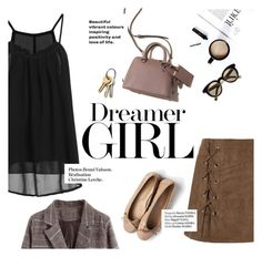 """""""dreamer girl"""" by lux-life ❤ liked on Polyvore featuring Haute Hippie and Isson"""