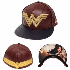 New Era 59Fifty Wonder Woman Character Armor Fitted Hat Batman V Superman  BVS  NewEra   33584e5f3b45