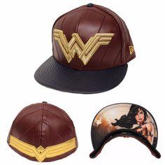 New Era 59Fifty Wonder Woman Character Armor Fitted Hat Batman V Superman BVS #NewEra #BaseballCap