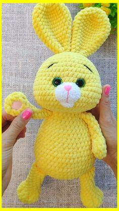 CROCHET BUNNY Pattern, Amigurumi pattern, Crochet Animal pattern, Plush Bunny pattern, Amigurumi rabbit pattern, Toy knitting pattern
