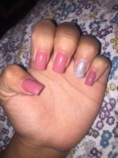 #nails #acrylicgel #sparkle