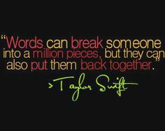 Taylor Swift is perf, tbh.